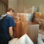 Выезд со склада хранения квартиры